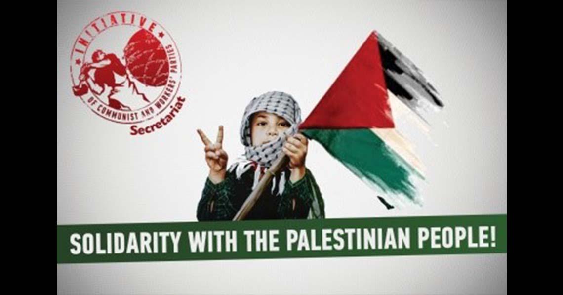 Szolidárisak vagyunk a palesztin néppel