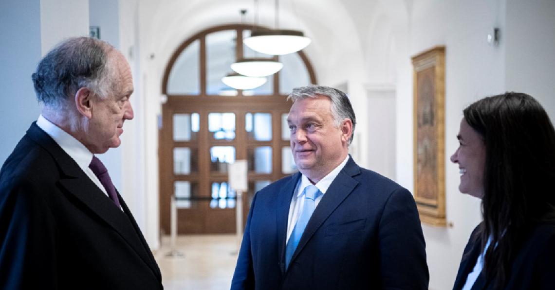 Orbán-Lauder-találkozó