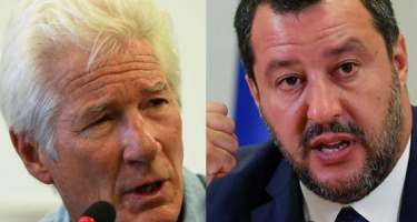 Salvini: Mr. Gere, vigye a migránsokat Hollywoodba!