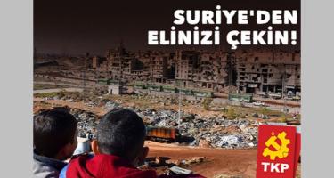 El a kezekkel Szíriától!