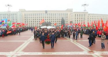 Belaruszban ünnep november 7-e