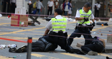 Hongkong: nyomást gyakorolni a Kínai Népköztársaságra