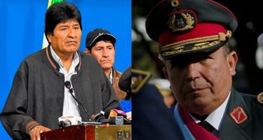 Jobboldali államcsíny Bolíviában