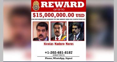 Az USA vérdíjat tűzött ki Maduro elnök fejére