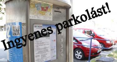 Szüntessék meg a parkolási díjakat!  Ingyenes parkolást!