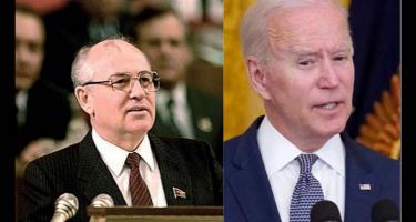 Biden Gorbacsov öngyilkos útját követi