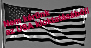 Nem kérünk az USA kioktatásából!