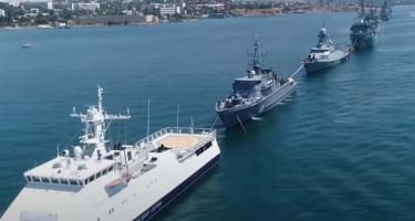 Csendes-óceán: együtt járőröznek az orosz és kínai hadihajók